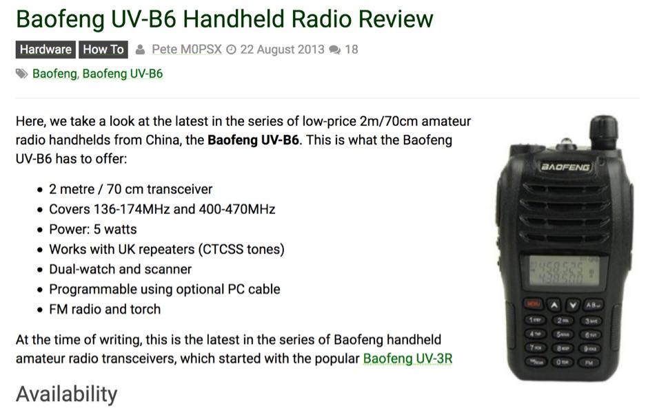 VHF-UHF Handhelds