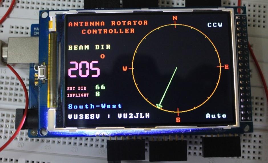 Arduino Antenna Rotator Controller