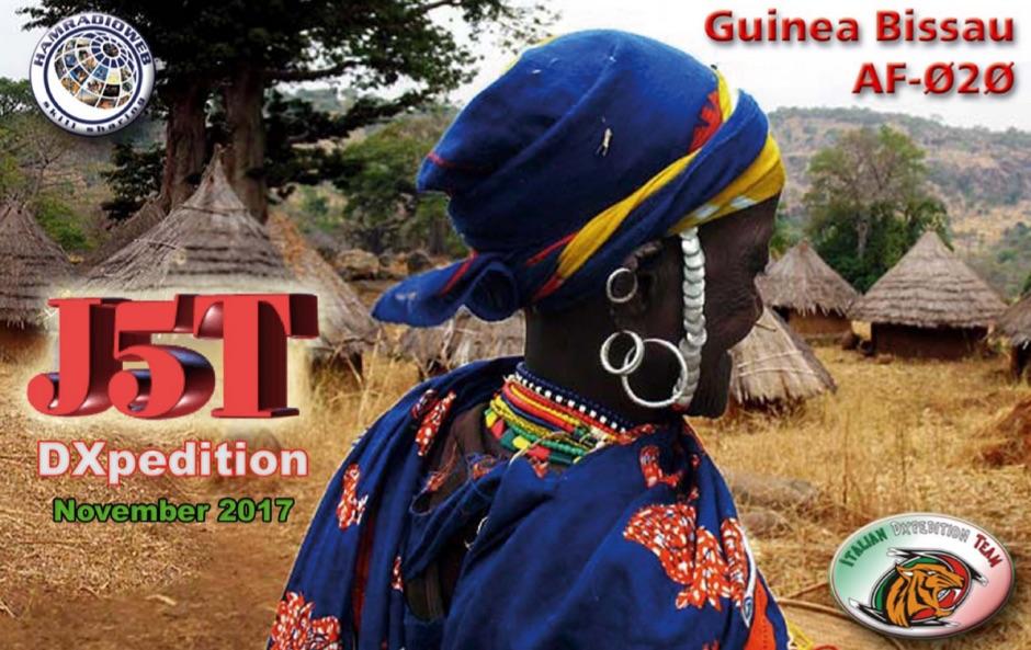 J5T Guinea Bissau DX Pedition by IDT