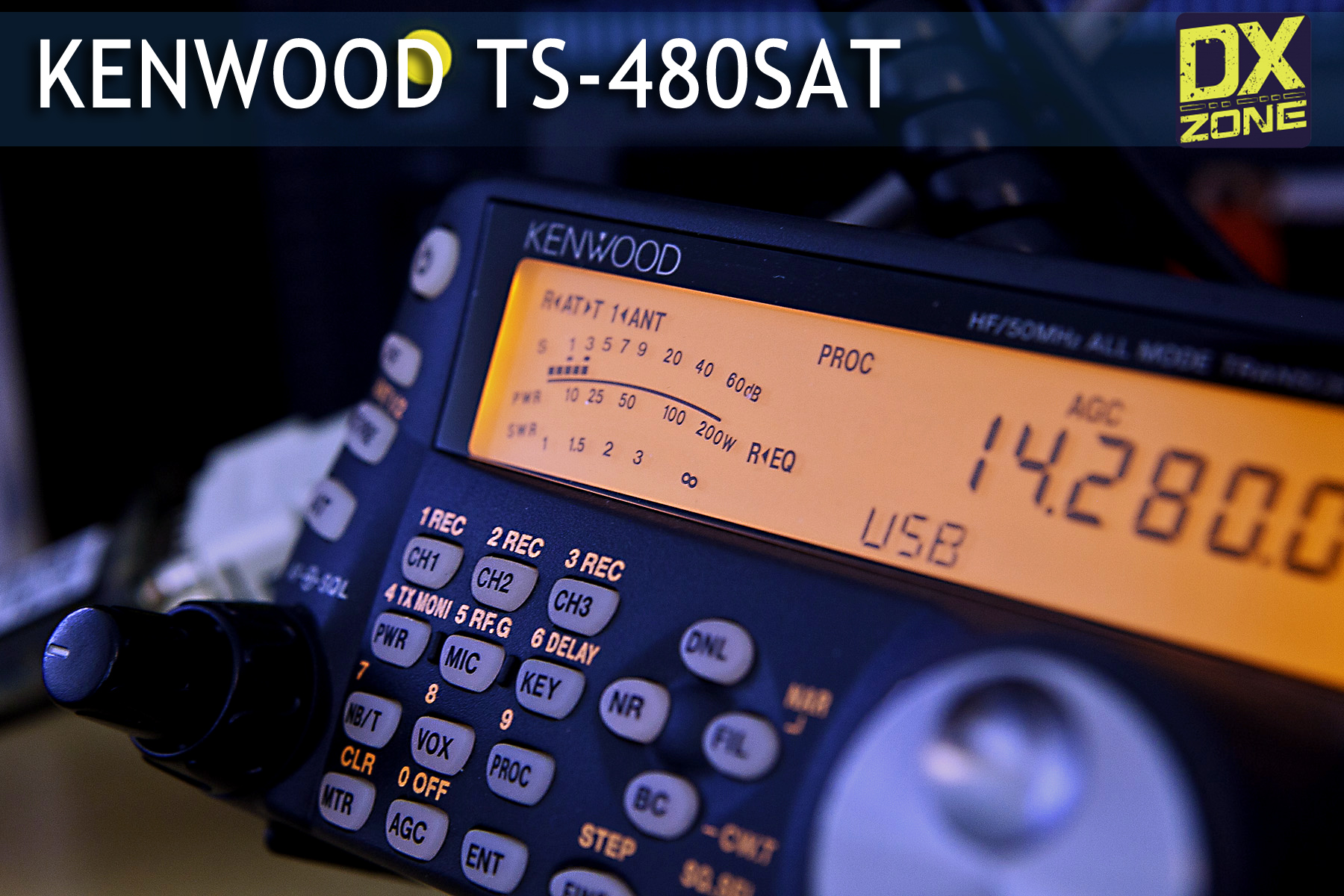 Kenwood TS-480 : Kenwood TS-480 Links - The DXZone com