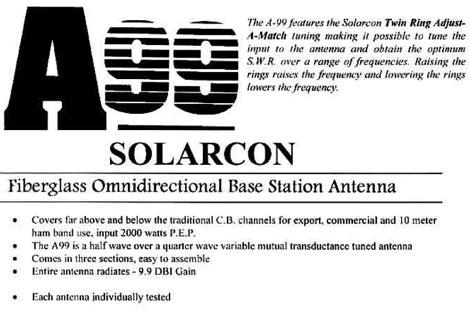 Solarcon A99