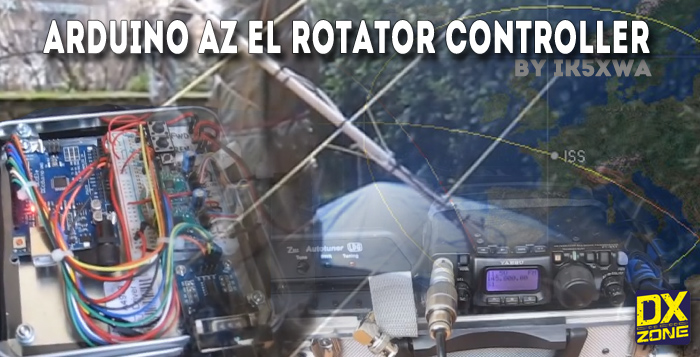 Tracking ISS with an Arduino Rotator Controller