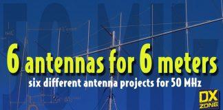 Six Antennas for 4 Six Metes