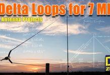 Delta Loop Antennas for 7 MHz