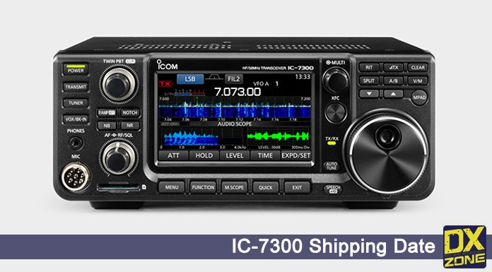 Icom IC-7300 shipping Date