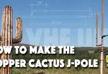 Copper Cactus antenna