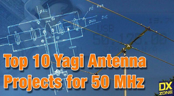 10 Yagi Antenna for 6 meter band