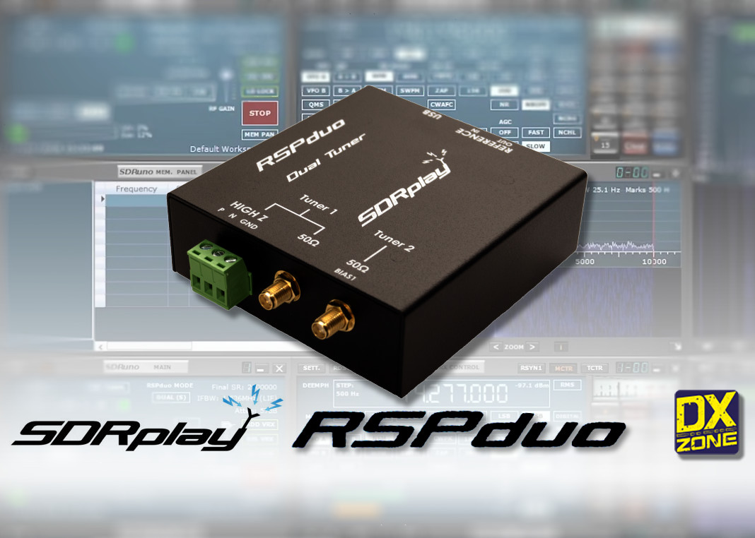 RSPduo - High performance dual tuner SDR by SDRplay