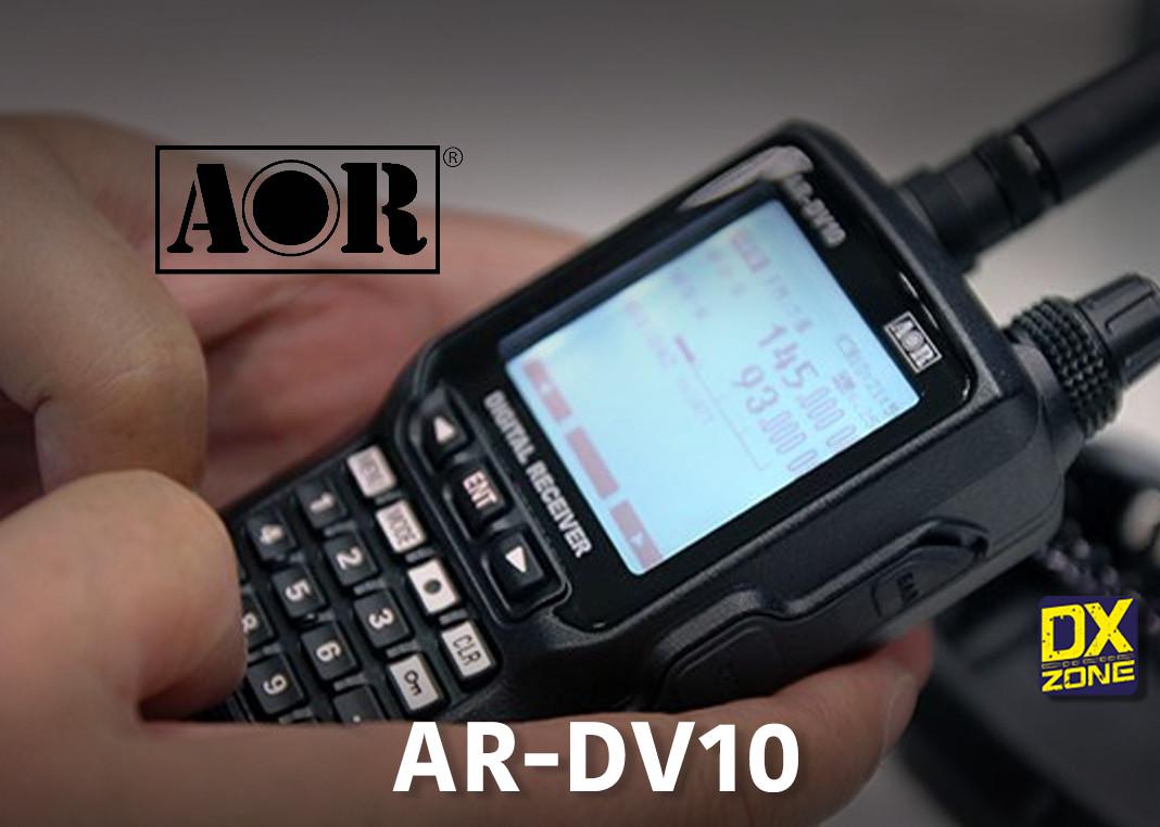 AOR AR DV10 Wide-band SDR Handheld Receiver