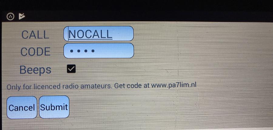 Peanut register call