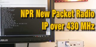 NPR New Packet Radio - IP over 430 MHz