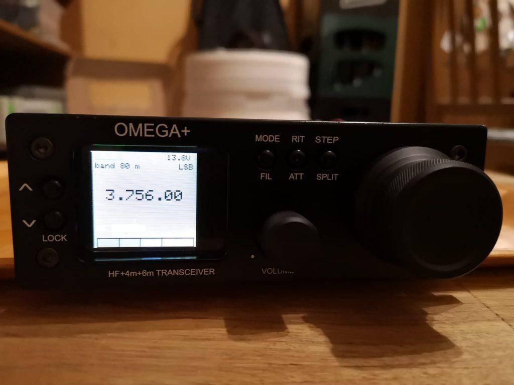 Omega+ Radio Front