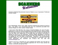 Scanners Unlimited, Police Scanners