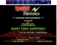 W4RT  Electronics