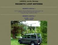 LA6NCA Loop antenna