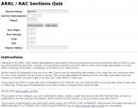 ARRL/RAC Sections Quiz