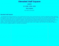 Half square antenna