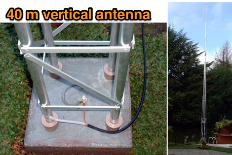 7 MHz Vertical antenna