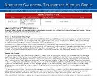 Transmitter hunting, in San Francisco