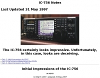 IC-756 Notes