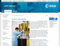 ESA Portal - Calling all radio amateurs
