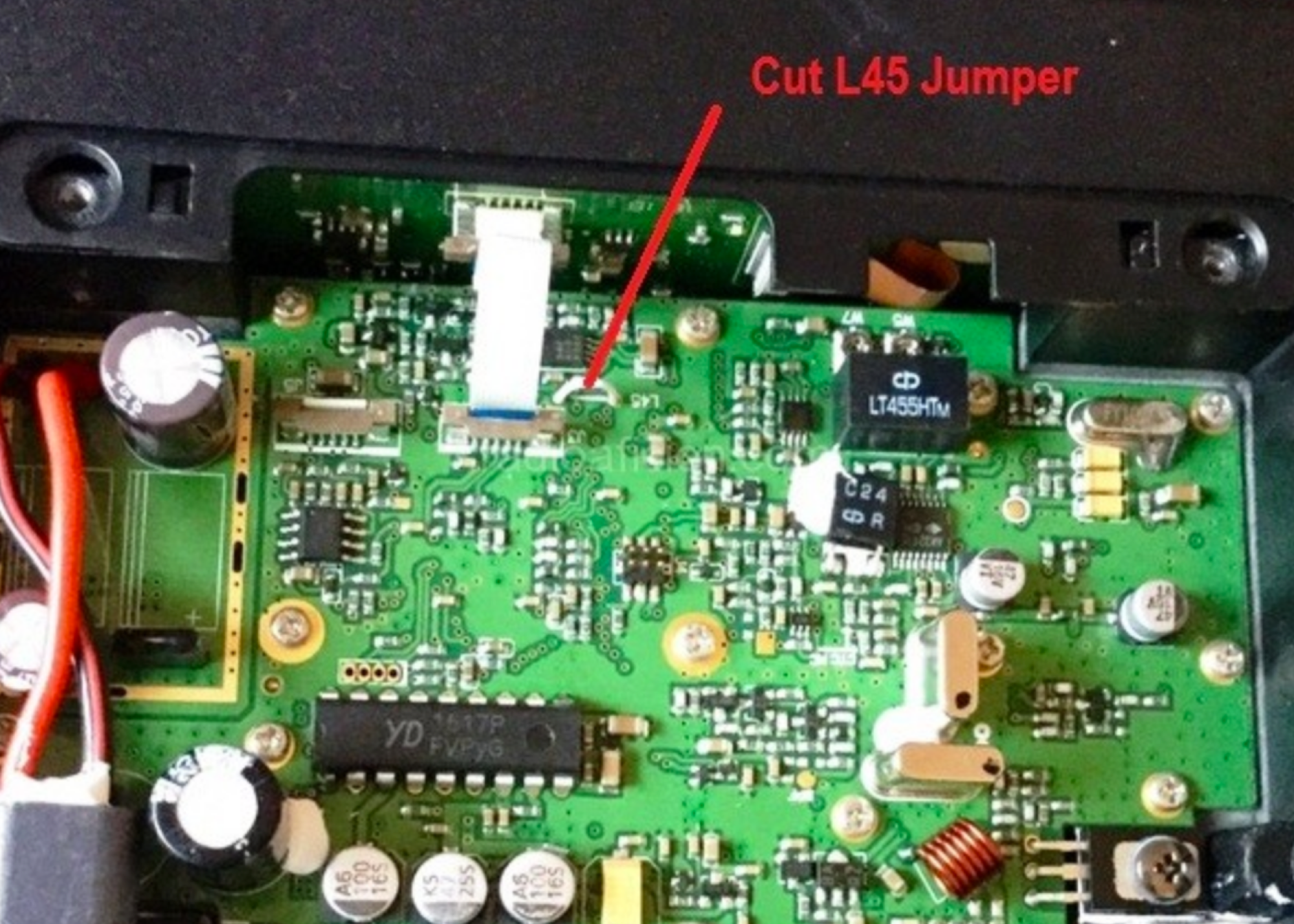 Radio and Scanner Modifications