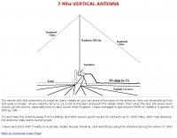 7Mhz Vertical antenna