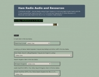 Ham Radio Audio and Resources