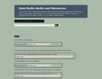 Ham Radio Audio and Resources