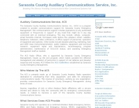 Sarasota County Auxiliary Communications Service,