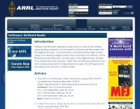 ARRLWeb: Software Defined Radio
