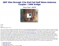 AA5TB Antenna Coupler / SWR Bridge