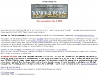 WD4BIS project pages