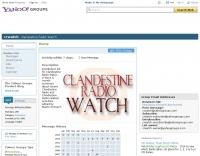 CRWATCH : clandestine radio watch