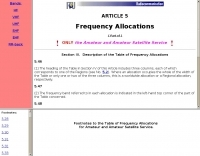 ITU: Frequency Allocations