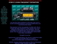ICOM IC-2100H Frequency expansion