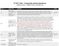 FT-817 Faqs