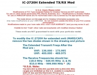 IC-2720H Extended TX/RX Mod