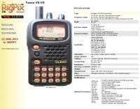 Rigpix database - Yaesu - VX-5R