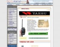 Yaesu VX 150 pictures