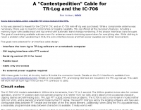 TR-LOG to ICOM Control cable