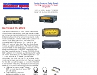 AARS - kenwood ts-2000 and accessories
