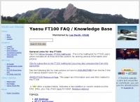 Yaesu FT100 FAQ and knowledge base