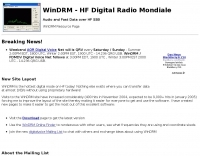 WinDRM - HF Digital Radio Mondiale