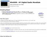 WinDRM - HF Digital Radio Mondiale