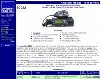 Icom V8000 mobile amateur transceiver