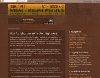 Tips for shortwave radio beginners