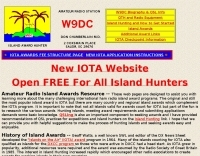 W9DC IOTA and lighthouse awards