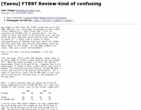 Yaesu FT897 review-kind of confusing