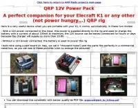 QRP 12V Power Pack